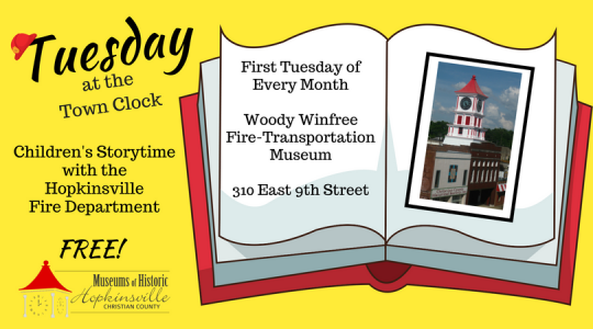 Tuesday at the Town Clock