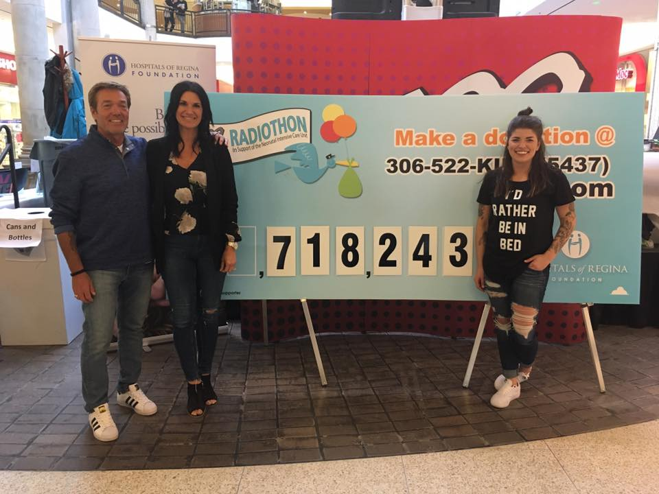 Z99 - 31st Annual Z99 Radiothon raised $718, 243
