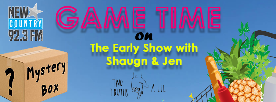 Feature: https://www.newcountry923.com/game-time-with-shaugn-jen/