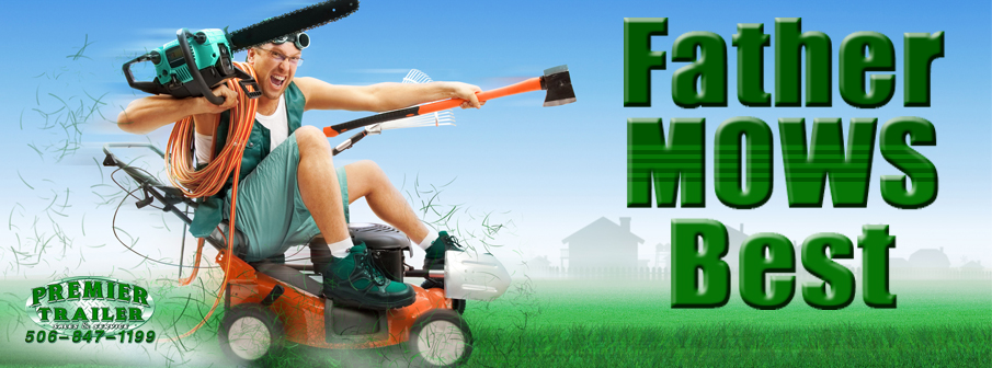 Father Mows Best