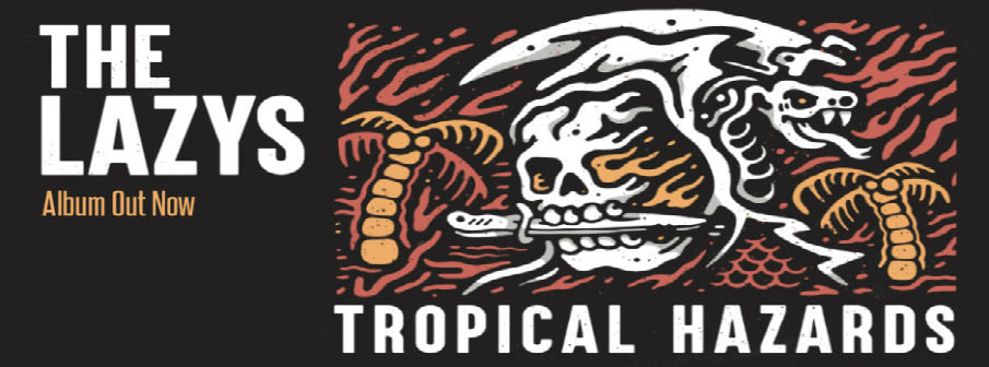 The Lazys Tropical Thunder CD giveaway