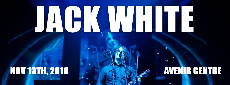 Jack White at the Moncton Events