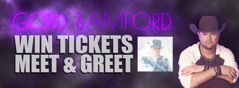 Gord Bamford Valentines Giveaway