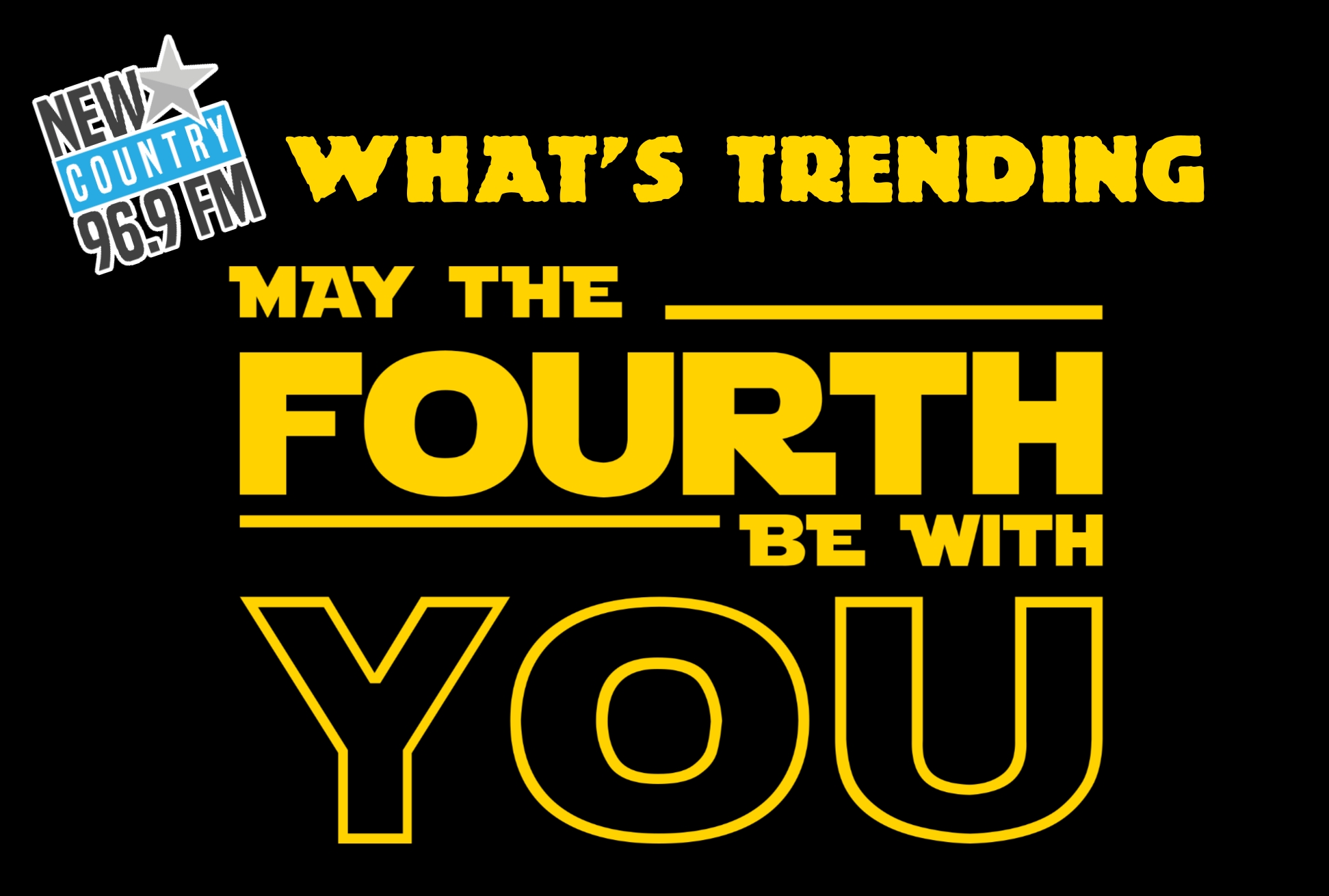 "#WhatsTrending - Friday #MayThe4thBeWithYou - A few showers ending this morning then cloudy. High 15 / #NBFlood is ""worst in more than 80 years""...TCH still closed between Moncton & Fredericton / Bathurst vs. Blainville-Boisbriand for Q title begins tonight"