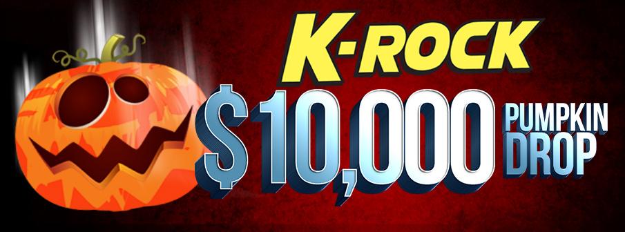 K-ROCK'S $10,000 Pumpkin Drop