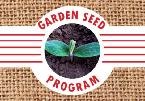 Garden Seed Voucher Signups