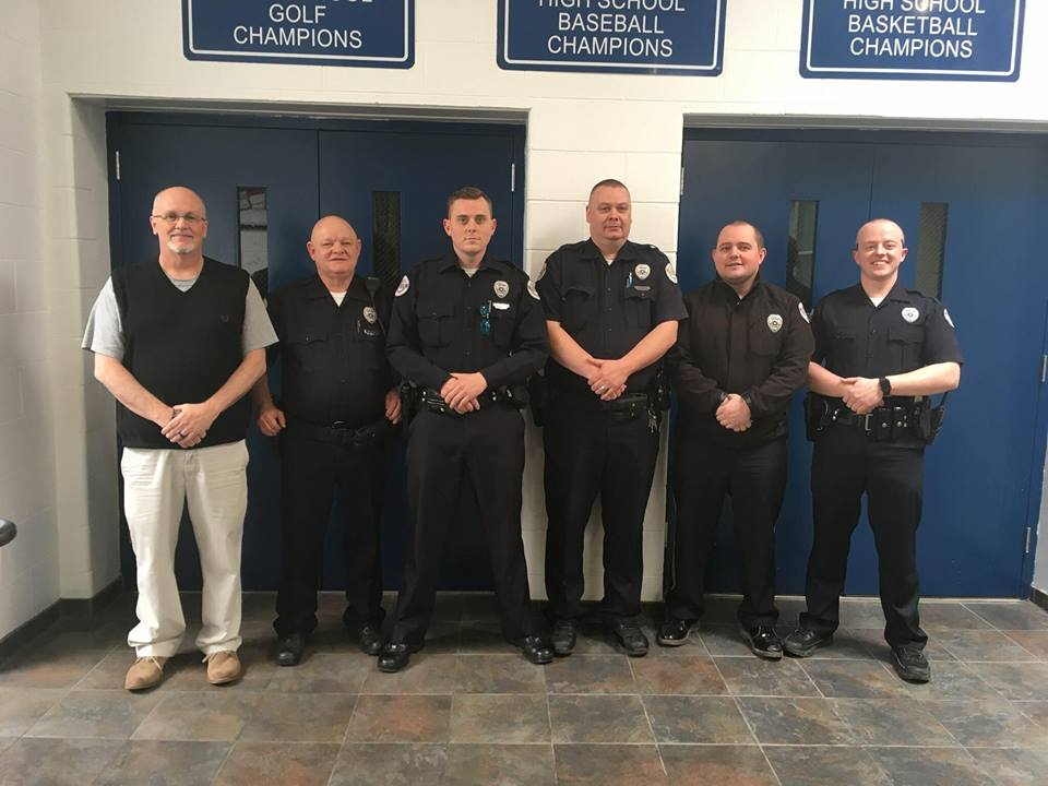 Paintsville Police Working with Paintsville Independent Schools