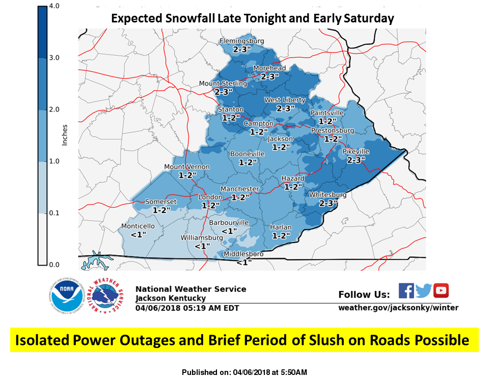 Winter Weather Advisory Issued