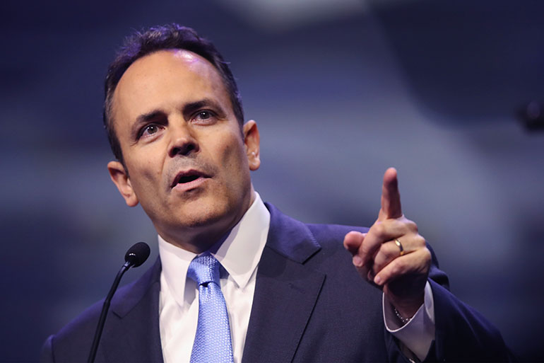 Gov. Bevin to Veto New Taxes, 2-year Operating Budget