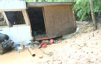 Landslide Destroying Perry County Home