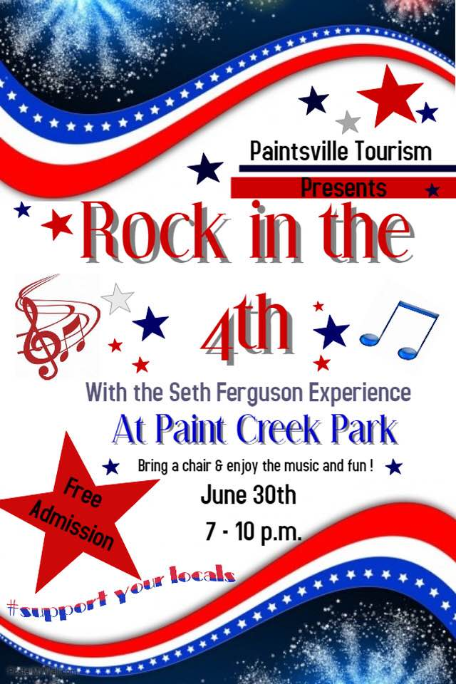 Rock In The 4th at Paint Creek Park