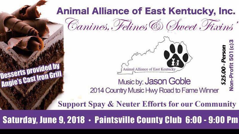 Benefit for Animal Alliance of East Kentucky