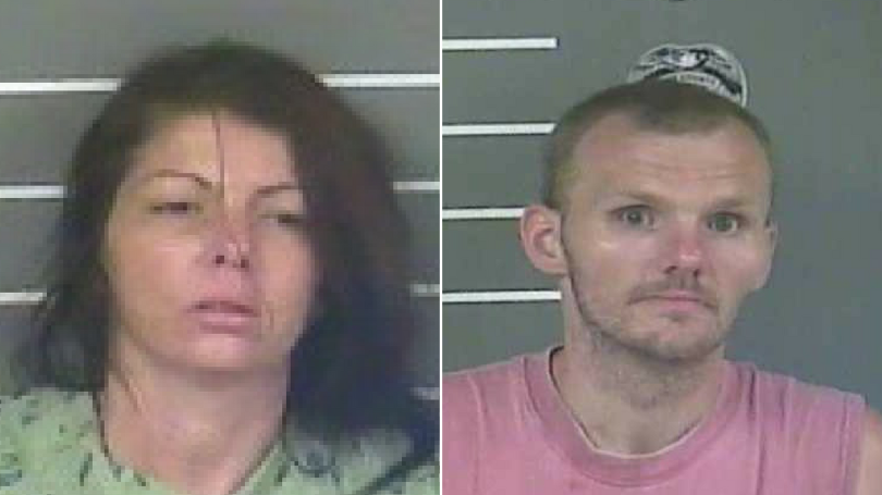 Man and Woman Break into Church to Drugs, Set Church on Fire