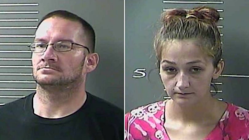 Couple Arrested for Selling Meth at Home w/Children Present