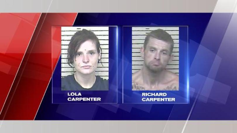 Pair Arrested in Stolen Car Case out of Carter Co