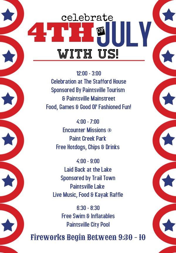 July 4th Events in Paintsville