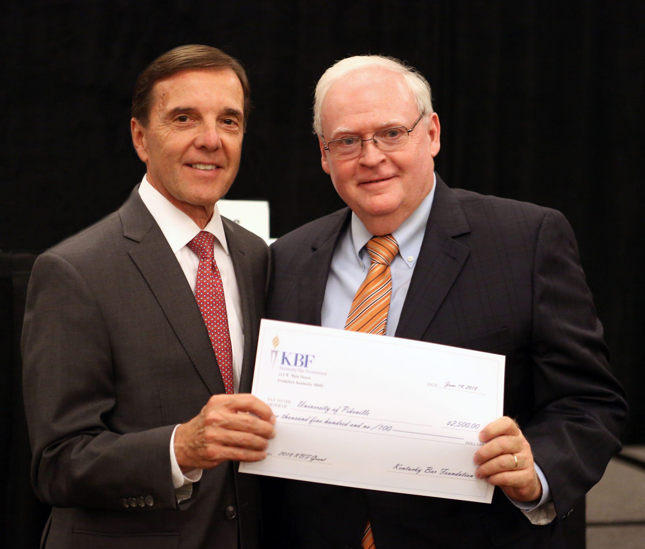 Kentucky Bar Foundation funds UPIKE judicial speaker series