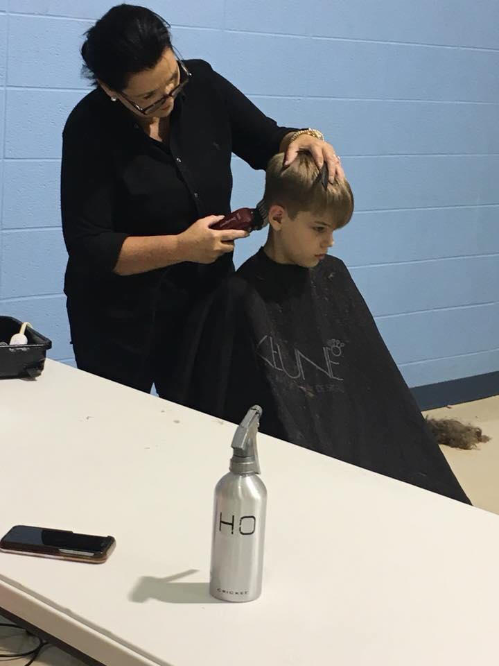 Over 100 Children Receive Free Back to School Haircuts