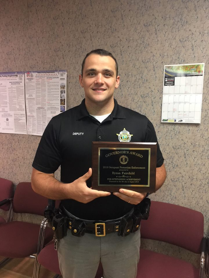 Johnson County Sheriff's Deputy Among Governors Award Recipients