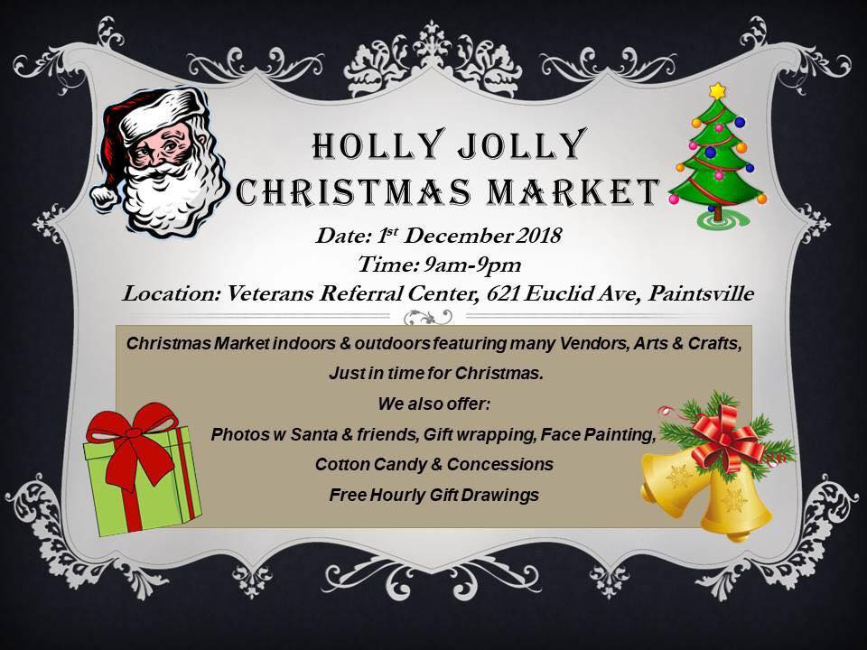 Veterans Referral Center to Host Holly Jolly Christmas Market