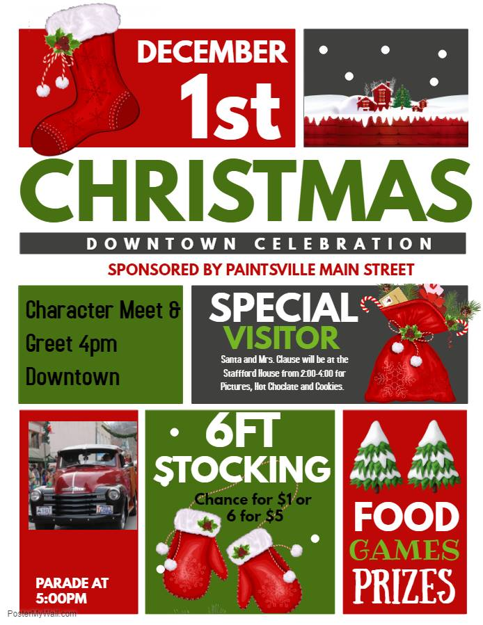 Paintsville's Christmas Parade Set for Saturday, December 1, 2018