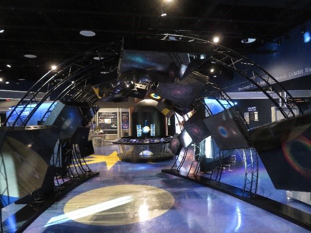 Hubble Exhibit Returns to East Kentucky Science Center