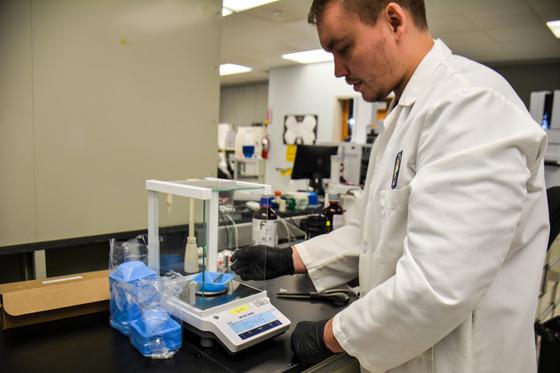Drug Chemist, Trey Vickers
