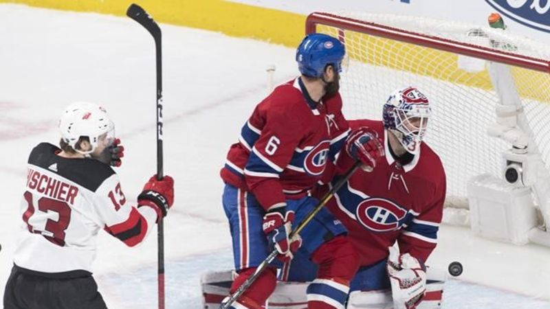 ... sale montreal canadiens let one slip away in 3 2 overtime loss to new  jersey devils c5d25293b