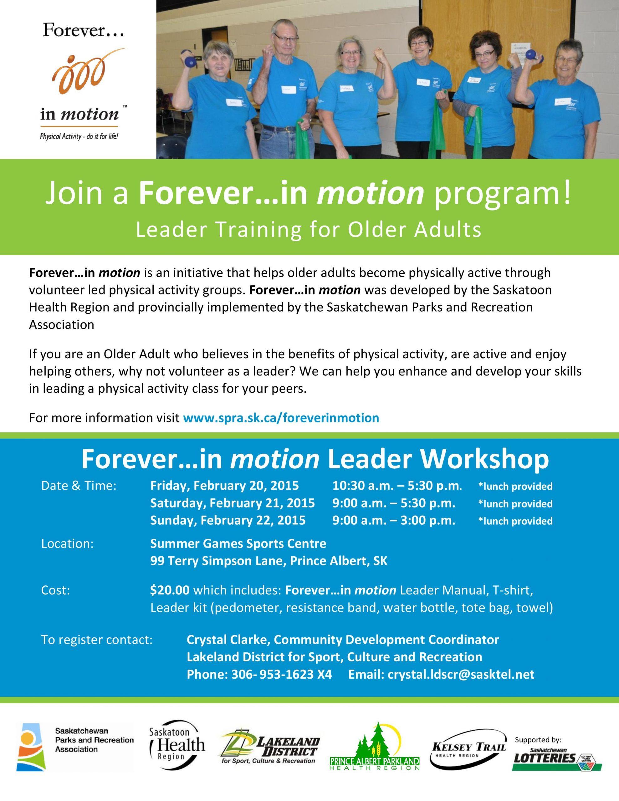 Forever in Motion | paNOW | Prince Albert, Saskatchewan