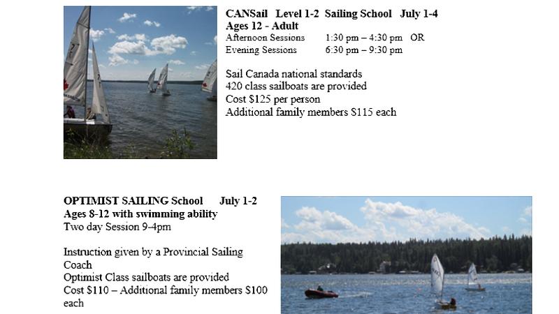 Learn To Sail | paNOW | Prince Albert, Saskatchewan | News
