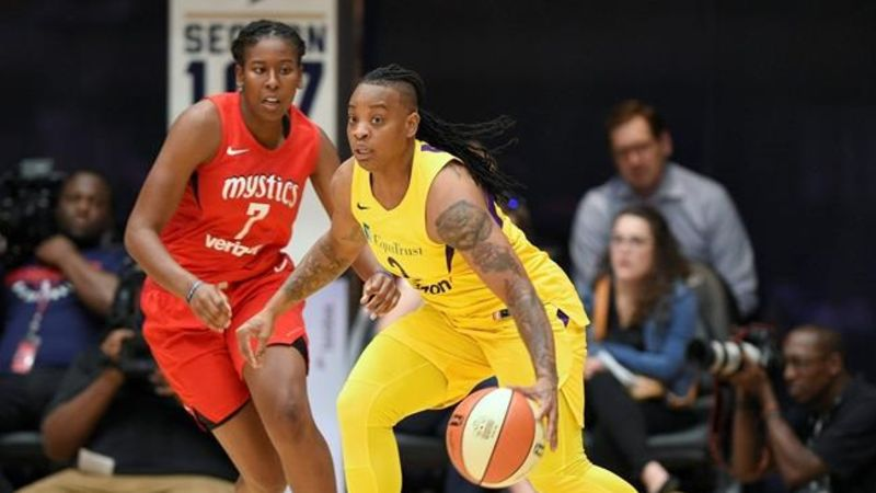 WNBA suspends Sparks' Williams over domestic violence incident