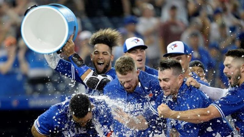 Toronto Blue Jays rally for wild victory over Tampa Bay Rays