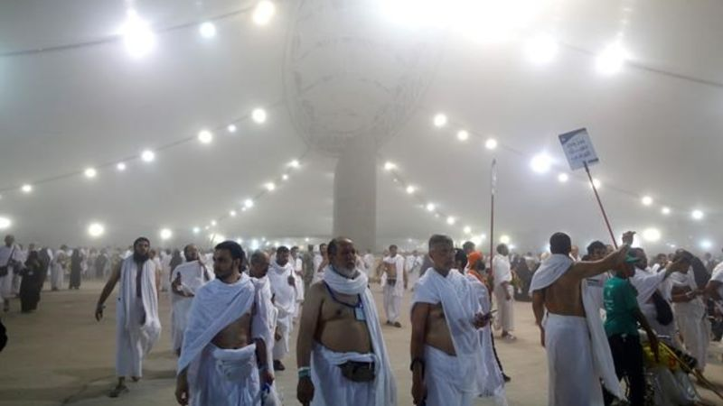 Muslims mark Eid and final days of hajj in Saudi Arabia