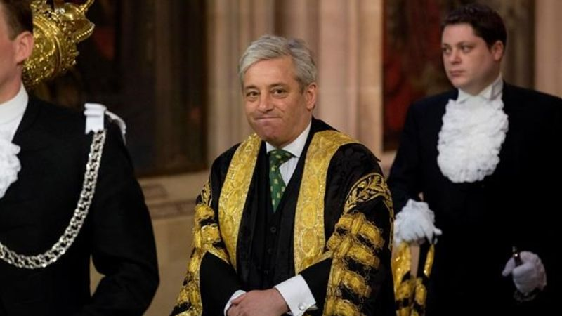 John Bercow Announces He Will Stand Down In An Emotional Speech""