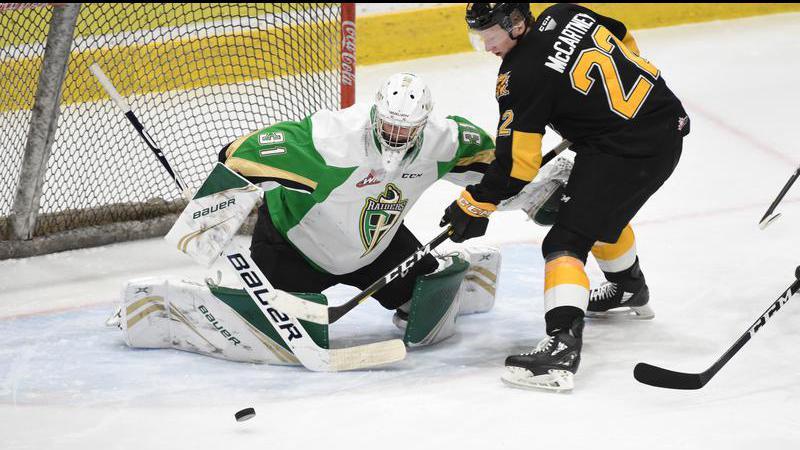 Paddock named WHL's Eli Wilson Goaltending Goaltender of the Week