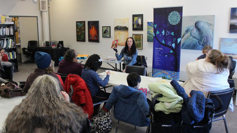 Aboriginal Storytelling with Leah Dorion