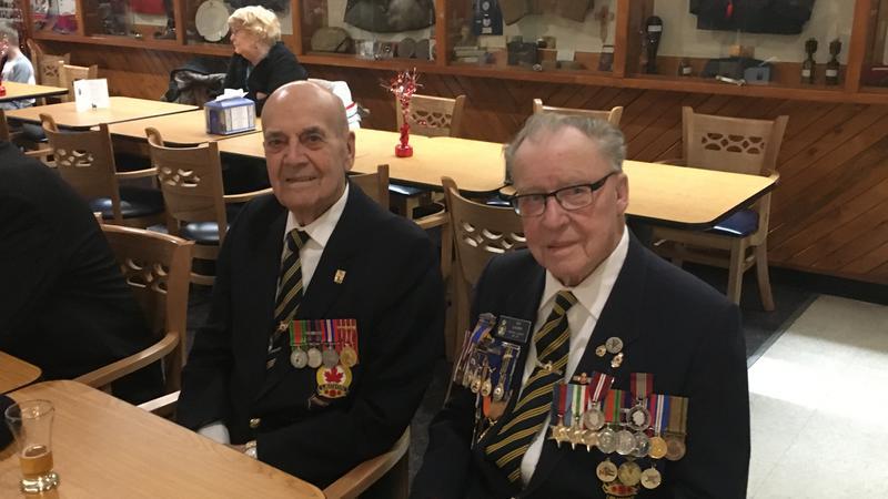 Legion holds special celebration for two veterans