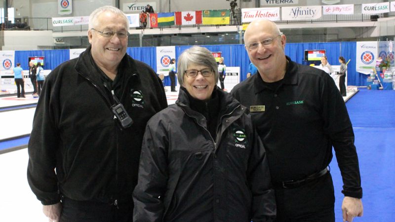 Scotties honours longtime Sask. curling umpire from P.A.