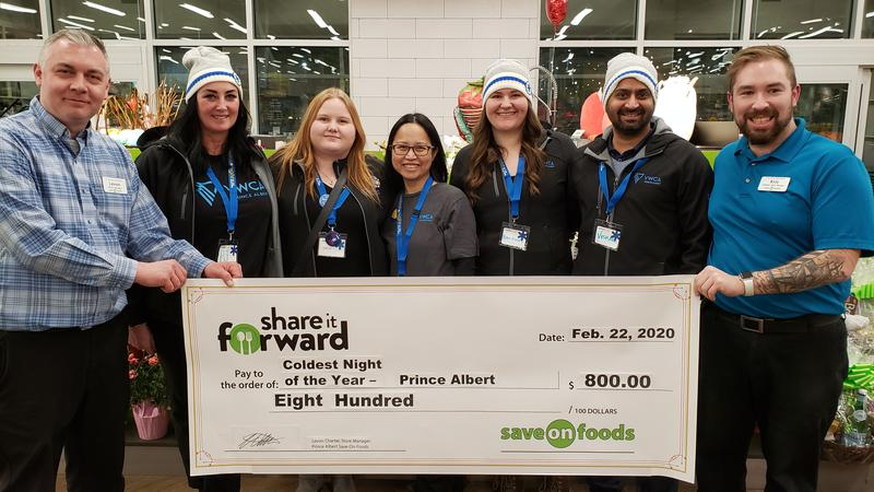 Prince Albert YWCA raise money to help the homeless