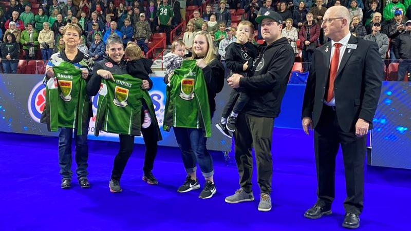 Curling community gathers to remember Aly Jenkins at Scotties Tournament of Hearts
