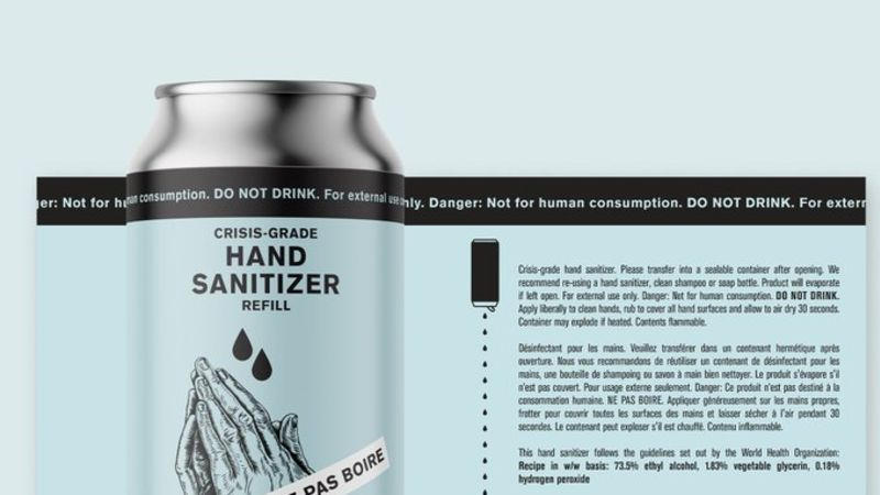 Toronto distilleries are now making hand sanitizer to help fight COVID-19