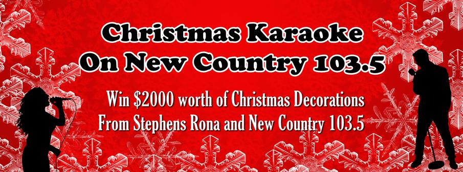 Christmas Karaoke