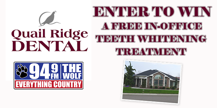 Feature: https://www.949thewolf.com/quail-ridge-dental-teeth-whitening-giveaway/