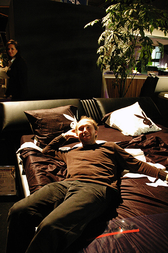 Waterbeds could be making a comeback!