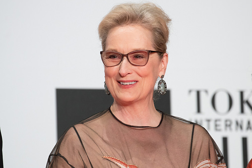 Meryl Streep files a trademark for her name!