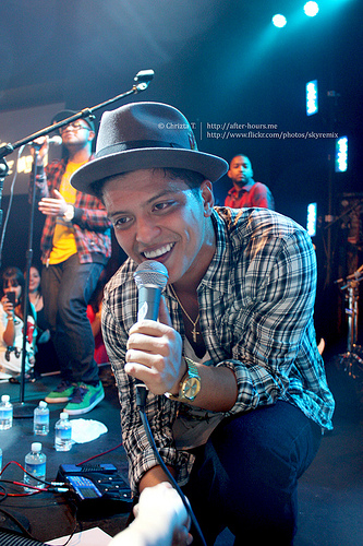 Could Bruno Mars soon be portraying Prince in a movie?