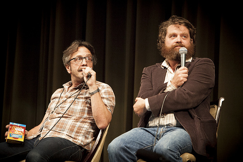 Zach Galifianakis Speaks Out About Louis C.K.