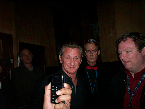 WATCH: Sean Penn was bizarre, lighting up cigs & on Ambien on Stephen Colbert last night!