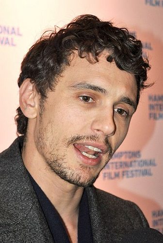James Franco's star on the Hollywood Walk of Fame defamed with obscene graffiti!