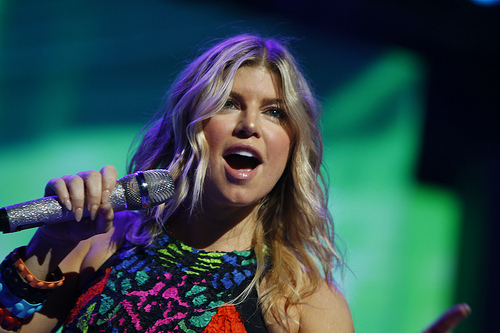 Fergie slammed for awful National Anthem performance...Watch here!